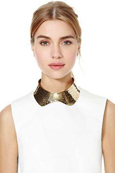 Etch Collar Necklace