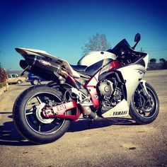 Yamaha R1. You will be mines
