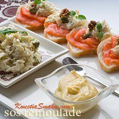 SOSY - Przepisy na sosy, majonezy, dressingi i dodatki Polish Recipes, Feta, Cantaloupe, Potato Salad, Salsa, Side Dishes, Grilling, Food And Drink, Healthy Recipes