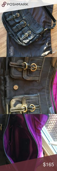 Coach purse 👛 Black coach purse ! Coach Bags Satchels