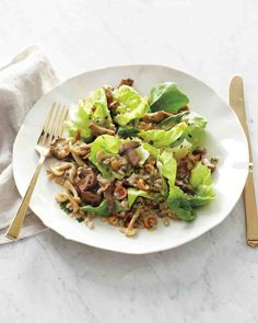 Mushroom Barley Salad Recipe