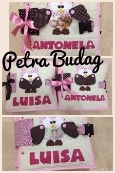 Quiet book #5 #6 Luisa e Antonela www.facebook.com/petra.budag #quietbookbrasil…