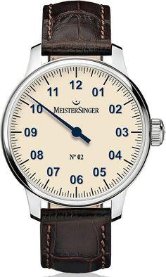 MeisterSinger Watch No 2 #add-content #basel-16 #bezel-fixed…
