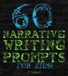 narrative writing practice with 60 prompts!