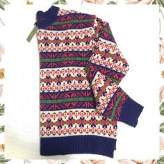 J. Crew Wool Sweater J. Crew ladies wool sweater. New with tags. Price is firm! J. Crew Sweaters
