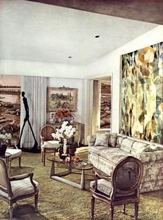 "BOMB Magazine — Portfolio by Martha Rosler | ""House Beautiful (Giacometti),"" from House Beautiful: Bringing the War Home, 1967–1972. Photomontage."