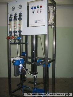 Фильтрационные установки для воды Сокол 1 – 50 куб/час - БесплатныеОбъявления.рф