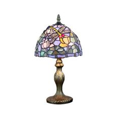 Tiffany Dragonfly Glass Table Lamps Lighting Decoration