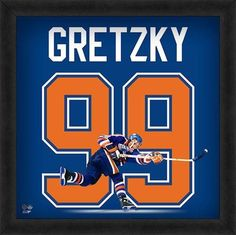 Featured is a Wayne Gretzky framed Edmonton Oilers jersey photo. This photo  has been professionally a1d2a4c6e