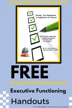 Classroom Freebies: Free Help for Students with Executive Functioning Challenges