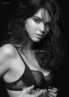 Kendall Jenner || Calvin Klein Underwear F/W 2015 Campaign