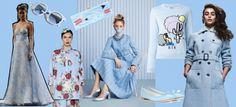 Colore azzurro serenity, tendenza Primavera-Estate 2016