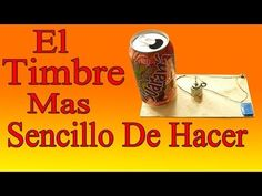 Cómo Hacer Un Timbre Sencillo En Casa (Fácil De Hacer) - YouTube Woodworking For Kids, Electronic Engineering, Joker And Harley Quinn, Electronics Projects, Light Painting, Science Projects, Summer Activities, Arduino, Kids Playing