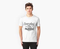 Everyday I'm mugglin by samuelpetter