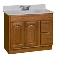 KING JAMES Series  36quot;w x 21quot;d Vanity at Menards