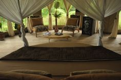 sleep luxury  under canvas !! magic glamping in Bali !