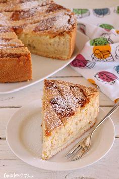 Alta e cremosissima, un dolce che vi farà innamorare! #pasqua #ricetta #food #pastiera #dessert