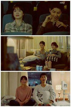 """Descendants of the Sun"" al Song Joong Ki… Song Hye Kyo, Song Joong Ki, Decendants Of The Sun, 2016 Songs, Best Kdrama, Songsong Couple, Drama 2016, Jin Goo, Drama Korea"
