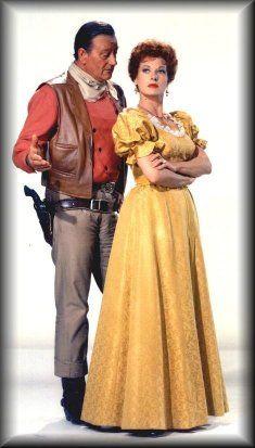 McLintock staring John Wayne and Maureen O'hara. What a fantastic combination! I still enjoy watching this movie.