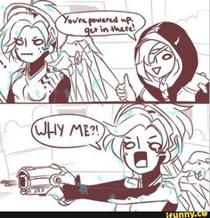 A message to all Ana's, pls don't boost me as mercy.  I don't know what to do with myself, and I usually end up dead lol