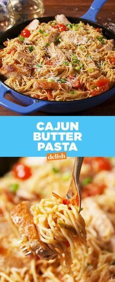 Cajun Butter Pasta