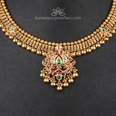 Antique Jewellery Designs, Gold Earrings Designs, Gold Designs, Mehndi Designs, Necklace Designs, Antique Jewelry, Jewelry Design, Gold Necklace Simple, Small Necklace