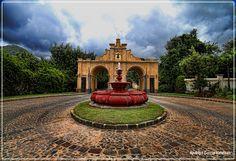 Entrada Finca Filadelfia, Antigua Guatemala |