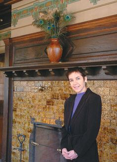 Nina Smiley of Mohonk Mountain House (Daily Freeman photo by Tania Barricklo)