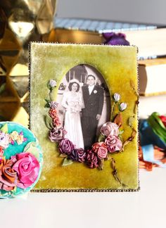 In Lessons 6 and 7, you'll learn how to create this yummy, diminutive velvet frame.