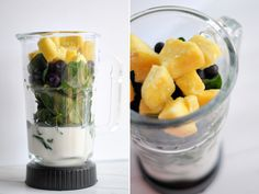 Blueberry Pineapple Smoothie || HeathersDish.com #healthyeating