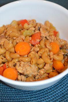 Lili popotte: Macaroni chinois