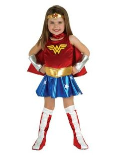 Try Wonder Woman Toddler Costume. Huge Selection of Wonder Woman Costumes for Halloween at PartyBell. Wonder Woman Costumes, Wonder Woman Halloween Costume, Wonder Woman Outfit, Best Toddler Halloween Costumes, Superhero Halloween, Toddler Costumes, Costumes For Women, Girl Halloween, Female Superhero