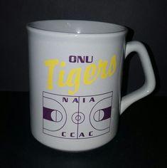 ONU Tigers Olivet Nazarene University Illinois NAIA CCAC Coffee Mug Cup 12 Oz