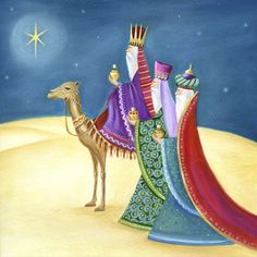 Leading Illustration & Publishing Agency based in London, New York & Marbella. Christmas Scenes, Christmas Books, Christmas Pictures, Christmas Crafts, Nativity Painting, Advent Calenders, Christmas Applique, Three Wise Men, Church Banners
