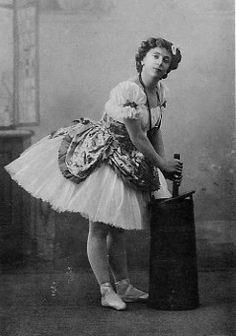 Olga Preobrajenska began her pedagogic career in 1914 with the Imperial Ballet Theatrical School and the Russian Choreographic School of Akim Volynsky. Among her pupils were Agrippina Vaganova, Vera Volkova, Tatjana Gsovsky.