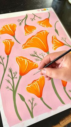 Gouache Painting, Diy Painting, Watercolor Paintings, Painting & Drawing, Watercolor Art Lessons, Simple Canvas Paintings, Diy Canvas Art, Art Drawings Sketches Simple, Art Drawings Beautiful