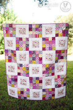 Ideas Patchwork Quilt Ideas Jelly Rolls Simple For 2019 16 Patch Quilt, Strip Quilts, Quilt Blocks, Colchas Quilting, Quilting Projects, Quilting Designs, Quilting Ideas, Crazy Quilting, Jellyroll Quilts