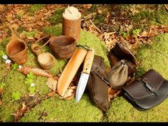 Elegant Bushcraft Tools + Collapsible Fire Bow - YouTube