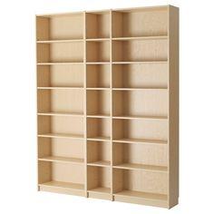 BILLY, Bücherregal, Birkenfurnier, Jetzt bestellen unter: https://moebel.ladendirekt.de/wohnzimmer/regale/buecherregale/?uid=7cc0b1cd-8b84-5576-9392-6d56614b304e&utm_source=pinterest&utm_medium=pin&utm_campaign=boards #buecherregale #wohnzimmer #regale