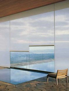 Sleek and clean shades can keep your home cool without obstructing your view from Arizona Wholesale in the Scottsdale Design Center.