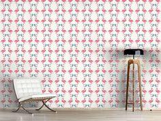 Design #Tapete Flamingo Tanz