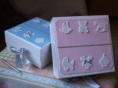 .: Tarritos de bebé y cajas a juego