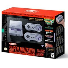 I was not able to acquire an NES classic... the hunt begins soon. SNES has some of the best games literally ever. So much Hype!! #snes #classic #nintendo #snesclassic #mario #zelda #starfox #childhood #hunt #classics #marioworld #donkykong #donkeykongcountry #f-zero http://misstagram.com/ipost/1546661509122295187/?code=BV22HKvAQWT