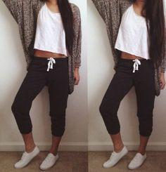 Outfits para llevar a la escuela cuando tienes mucha flojera