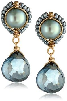 Dana Kellin Fresh Water Pearl Blue Quartz Post Earrings, http://www.amazon.com/dp/B00GN0HVRQ/ref=cm_sw_r_pi_awdm_VTelvb10H2MXD