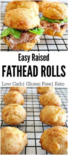Keto Fathead Rolls- Perfect for Sliders, Sandwiches and More! - Low Carb Foods - Keto Fathead Rolls- Perfect for Sliders, Sandwiches and More! Keto Fathead Rolls- Perfect for Sliders, Sandwiches and More! Ketogenic Recipes, Low Carb Recipes, Diet Recipes, Cooking Recipes, Bread Recipes, Recipes Dinner, Pescatarian Recipes, Recipies, Fat Head Recipes