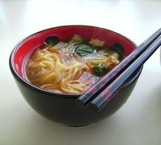 Receta vegana: Sopa asiática - Comida que Sana