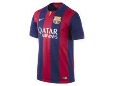 2014/15 FC Barcelona Stadium Home Men's Soccer Jersey