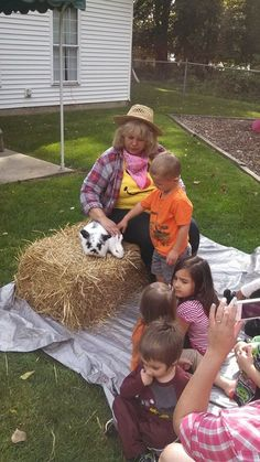 Kids love petting our animals in the petting zoo! davejeffersmagic.com has more info on our petting zoo and shows!