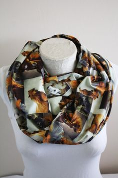 Horse Scarf Horse Infinity Scarf Women Accessories Christmas Gift Ideas for her by dreamexpress from dreamexpress on Etsy. Find it now at http://ift.tt/2fc0hwP!